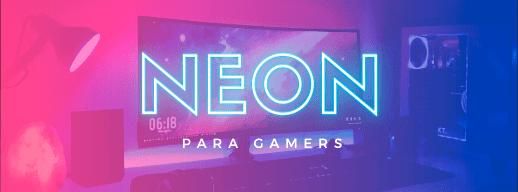 LED NEON FLEX para Gamer   Casa, Coisas e Tal   Incor Home
