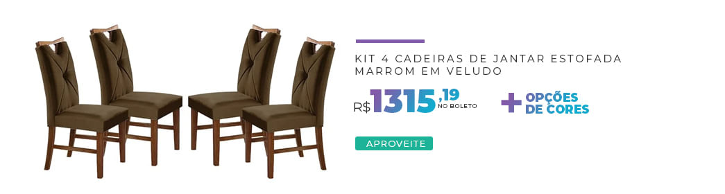 4 Cadeiras Delik