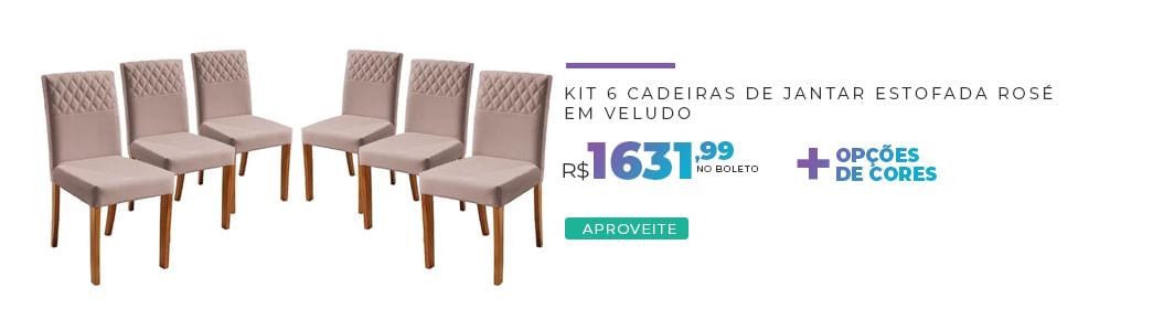 6 Cadeiras Yarim