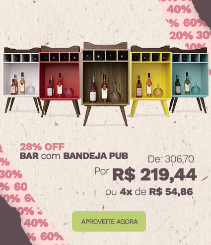 Bar com Bandeja