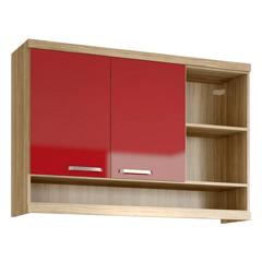 Armario-Aereo-2-Portas-Argila-Vermelho-5125-Multimoveis
