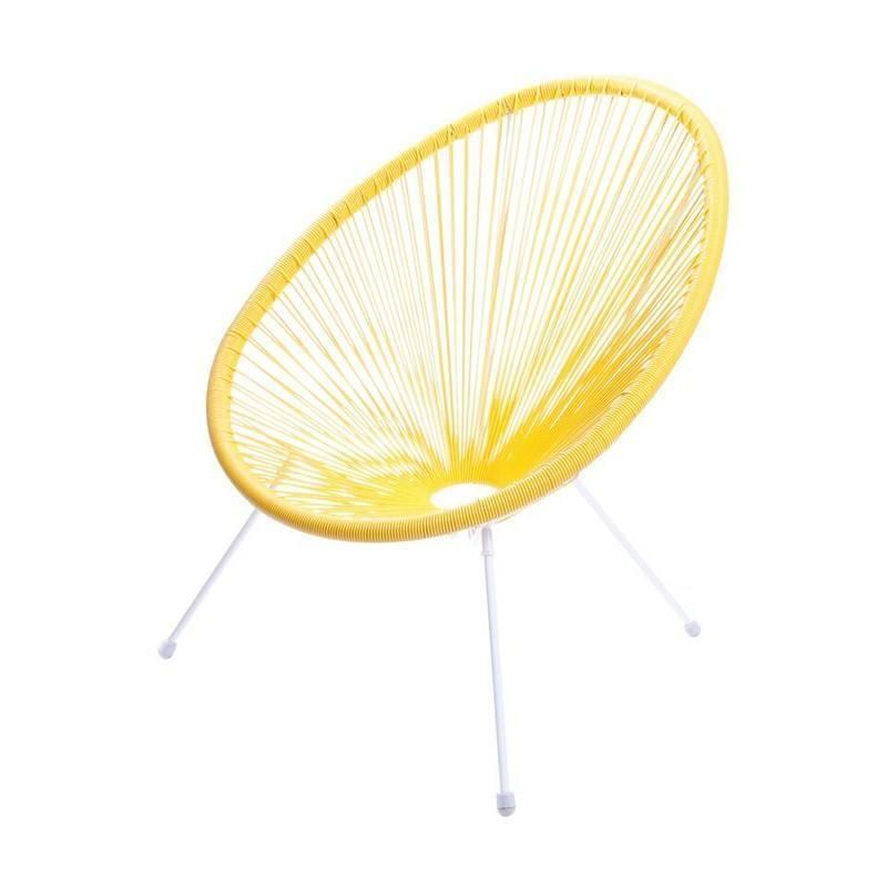 Cadeira Acapulco Amarelo Or Design