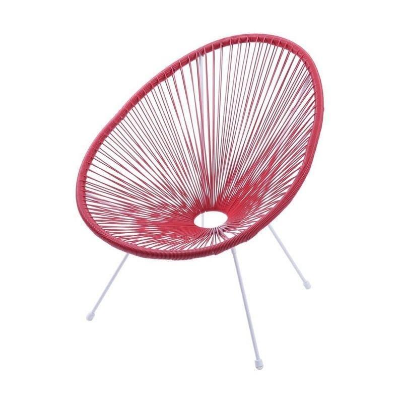 Cadeira Acapulco Vermelho Or Design