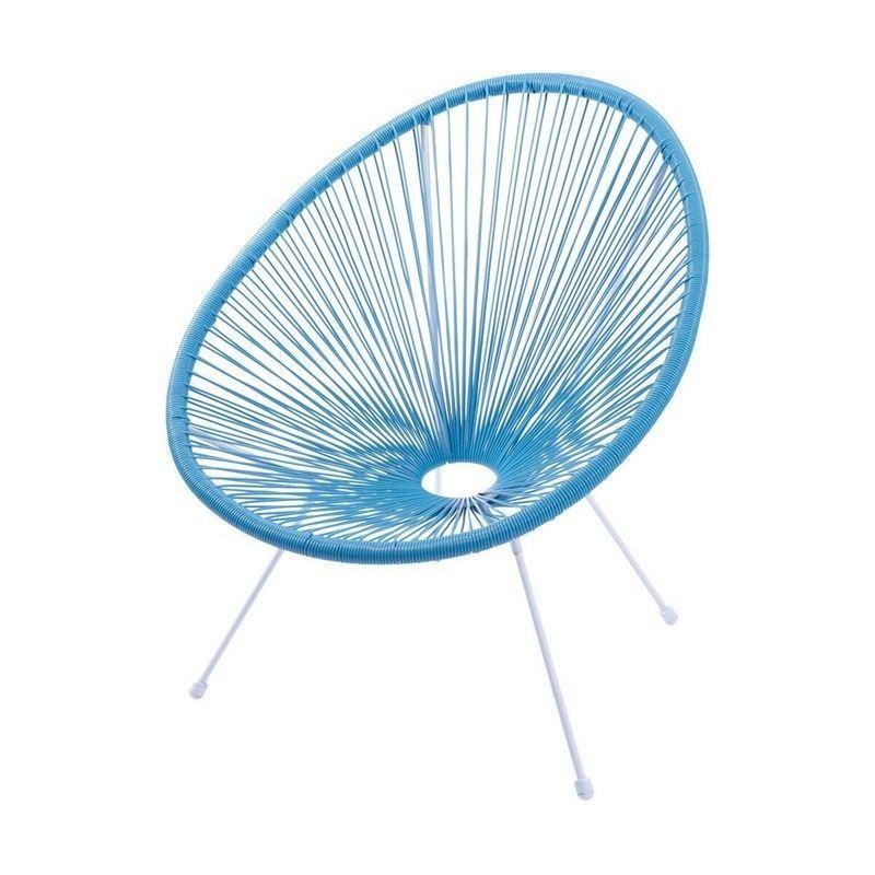 Cadeira Acapulco Azul Turquesa Or Design