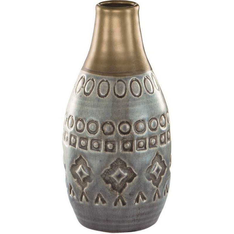 Vaso de Cerâmica Indigo Exotic 5601 Mart