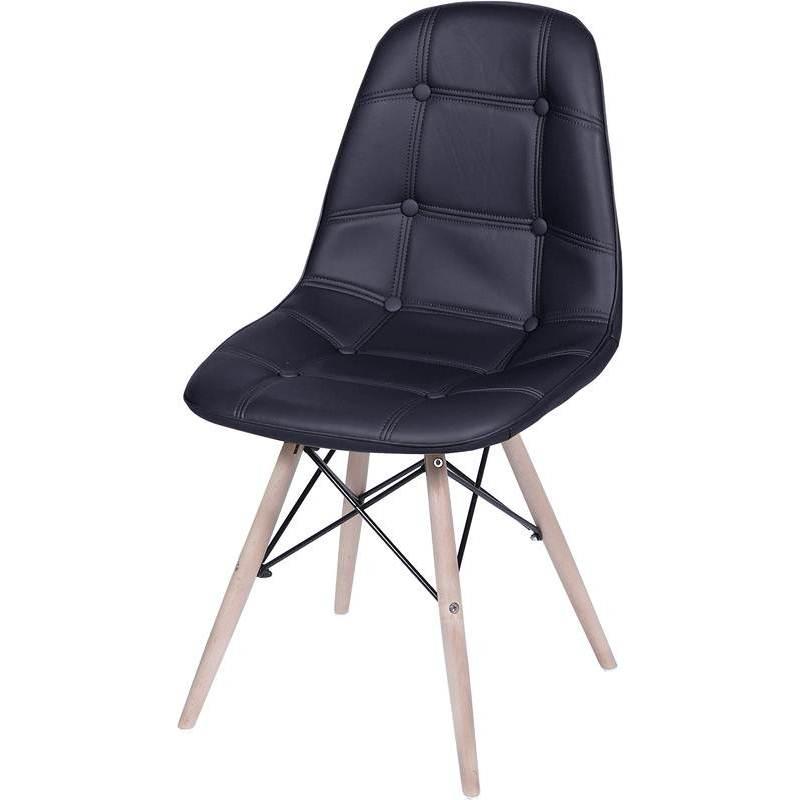 Cadeira Eames Botone Preto Or Design