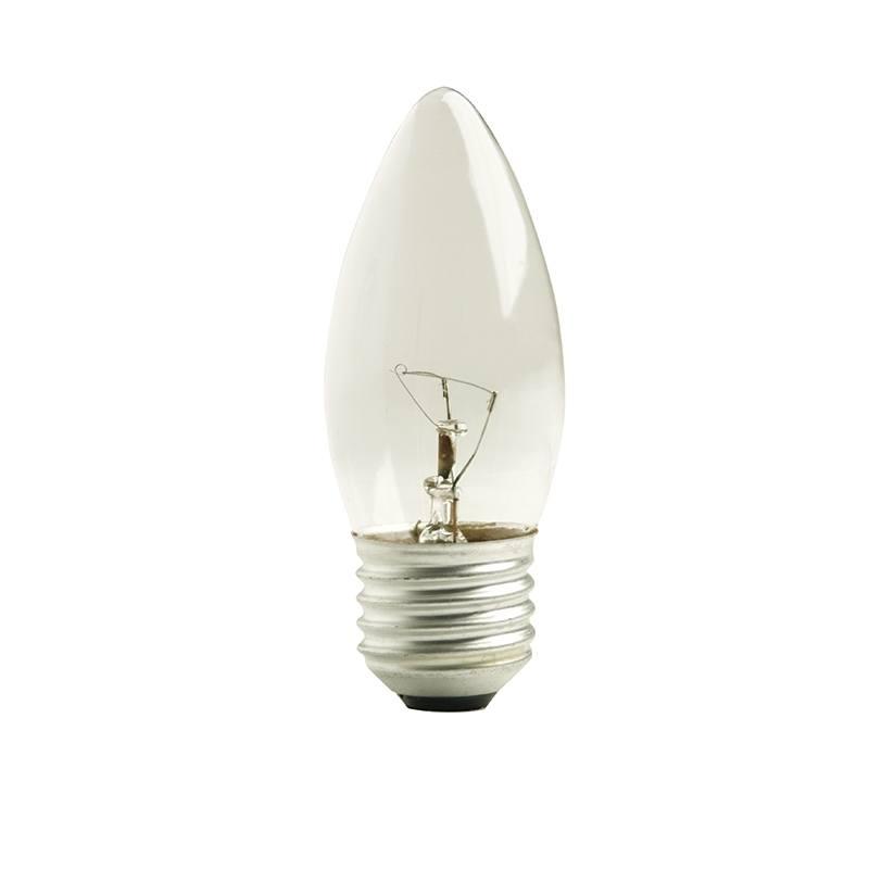 Lâmpada Incandescente Vela Lisa Clara E27 40W 127V Toplux