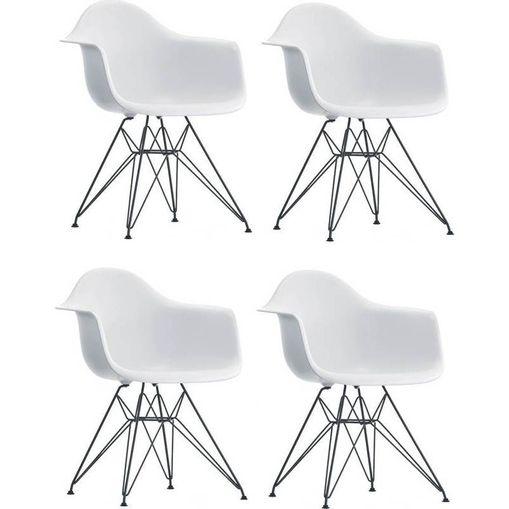 Kit-4-Cadeiras-Eames-Eiffel-Branca-com-Bracos-OR-Design-1121-1