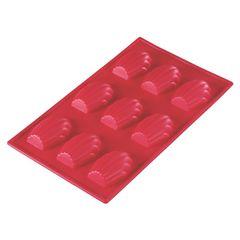 Forma-9-Madelleines-Silicone-Cuisine-Vermelha-17x29cm-Mart-3756