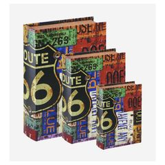 Kit-3-Caixas-Organizadoras-Book-Box-Route-66-Preto-Mart-4338-3