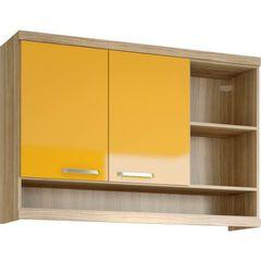 Armario-Aereo-2-Portas-Argila-Amarelo-5125-Multimoveis