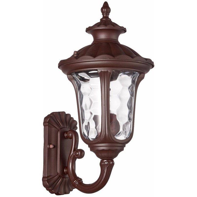 Arandela Colonial Marrom 36cm Orleans AC252P Luminárias BL
