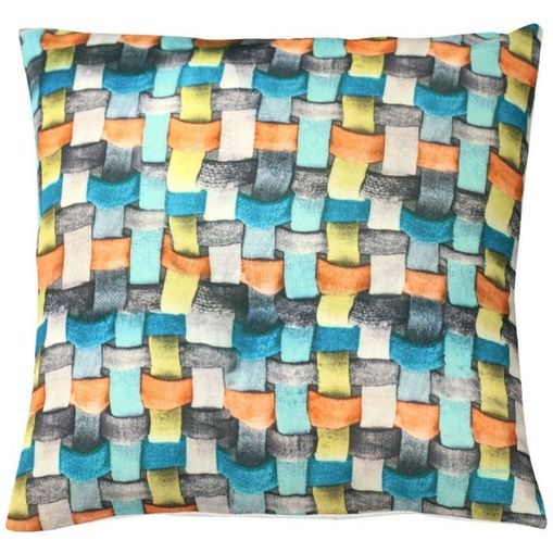 Capa de Almofada Colorida 45x45cm Knitted Cover Urban