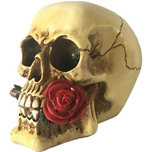 Caveira-Decorativa-em-Resina-Red-Rose-Pequena-Urban