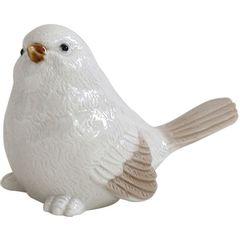 Passaro-Decorativo-em-Ceramica-Branco-Head-Up-Urban