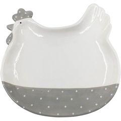 Bandeja-de-Ceramica-Branca-e-Cinza-Cute-Hen-40374-Urban