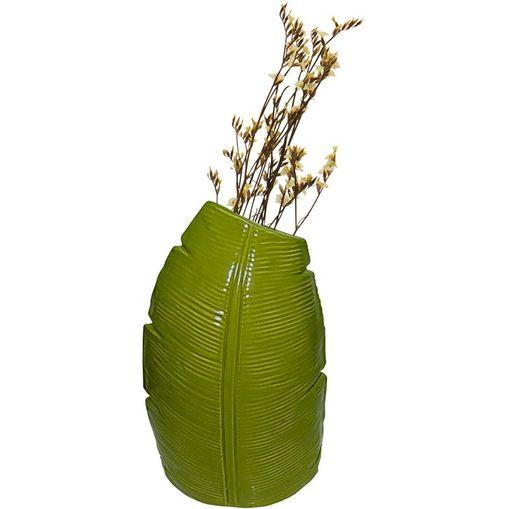Vaso-de-Ceramica-Verde-Banana-Tree-Medio-40387-Urban