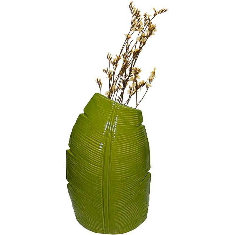 Vaso de Cerâmica Verde Banana Tree Médio 40387 Urban
