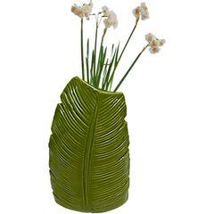 Vaso-de-Ceramica-Verde-Banana-Tree-Pequeno-40388-Urban