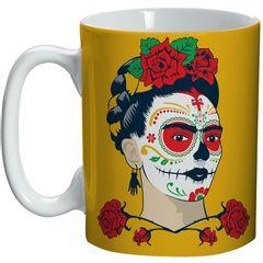 Caneca-de-Ceramica-Amarela-Face-Frida-Kahlo-Urban