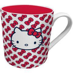 Caneca-de-Ceramica-Vermelha-Hello-Kitty-Urban