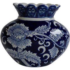 Vaso-de-Porcelana-Azul-e-Branco-Fat-Body-Urban