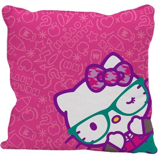 Capa-de-Almofada-Rosa-45x45cm-Hello-Kitty-Urban