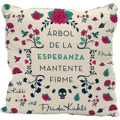 Capa-de-Almofada-Branca-45x45cm-Esperanza-Frida-Kahlo-Urban