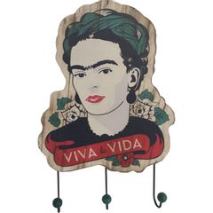Cabideiro-de-Parede-3-Ganchos-Viva-Frida-Kahlo-Urban