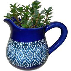 Vaso-de-Ceramica-Azul-Jar-Pequeno-Urban