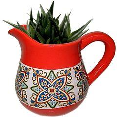Vaso-de-Ceramica-Vermelho-Jar-Pequeno-Urban