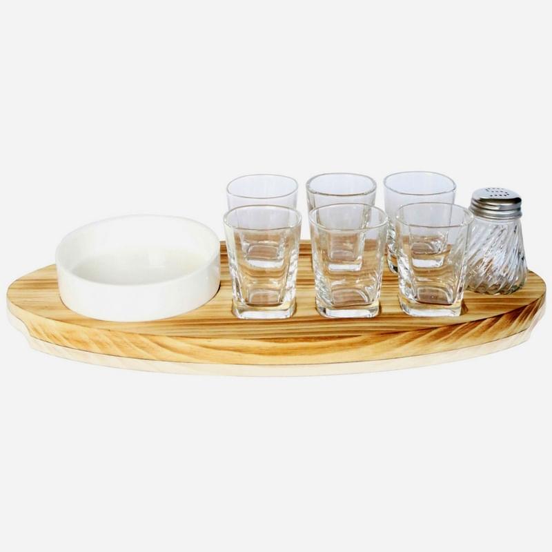 Kit Tequila com 9 peças Urban