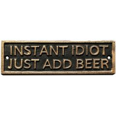 Placa-Decorativa-em-Ferro-Instant-Idiot-Urban