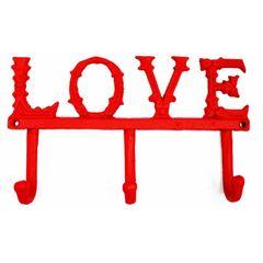 Cabideiro-de-Parede-Vermelho-3-Ganchos-Love-Urban