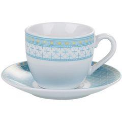 Conjunto-de-6-Xicaras-para-Cafe-em-Porcelana-com-Pires-Azul-90ml-Barcelona-2151-Lyor