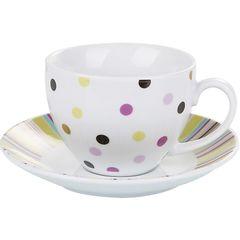 Conjunto-de-6-Xicaras-para-Cafe-em-Porcelana-com-Pires-Colorida-90ml-Aires-2155-Lyor
