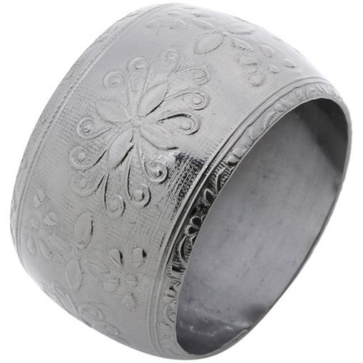 Conjunto-de-4-Aneis-para-Guardanapos-em-Aluminio-Prata-Escuro-2193-Lyor