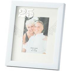 Porta-Retrato-Branco-10X15-Bodas-de-Prata-3061-Lyor