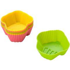 Conjunto-de-6-Formas-para-Cupcake-em-Silicone-Coloridas-6212-Lyor