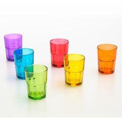 Conjunto-com-6-Copos-em-Vidro-Colorido-Faces-6357-Lyor