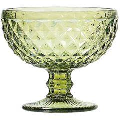 Conjunto-com-6-Tacas-Coupe-de-Vidro-para-Champagne-310ml-Verdes-Abacaxi-6494-Lyor