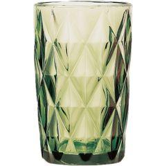 Conjunto-com-6-Copos-Altos-em-Vidro-Diamond-Verde-6499-Lyor