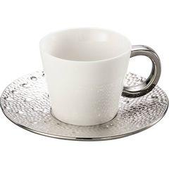 Conjunto-de-6-Xicaras-para-Cha-em-Porcelana-Prata-180ml-Drop-8113-Lyor