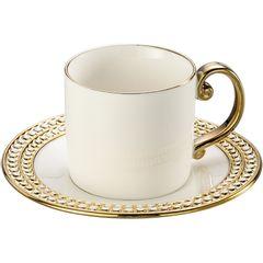 Conjunto-de-6-Xicaras-para-Cha-em-Porcelana-Dourada-220ml-Charme-8123-Lyor