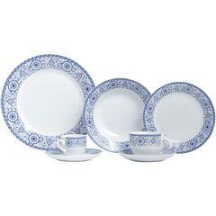 Aparelho-de-Jantar-com-42-Pecas-em-Porcelana-Azul-Sintra-8193-Lyor