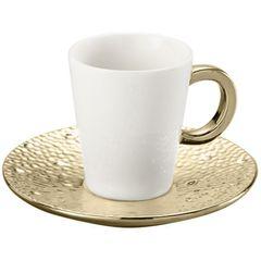 Conjunto-de-6-Xicaras-para-Cafe-em-Porcelana-Dourada-100ml-Drop-8225-Lyor