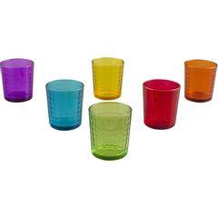 Conjunto-com-6-Copos-em-Vidro-Colorido-Xadrex-I-9745-Lyor