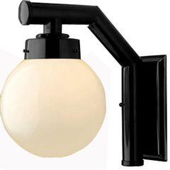 Arandela-Externa-com-Globo-Preta-32cm-Solarium-210-Ideal