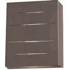 Arandela-em-Aluminio-Meia-Face-Marrom-Flash-944-Ideal