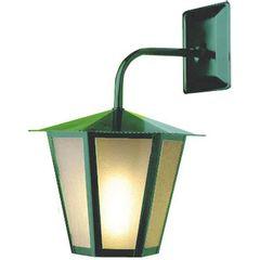 Arandela-Colonial-Verde-35cm-Sextavada-L-3-B-Ideal